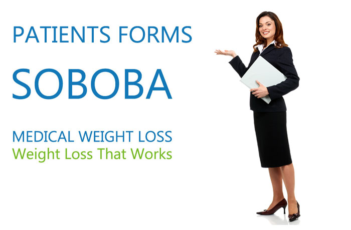 patient forms medical weight loss